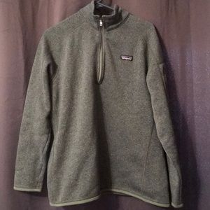 New without tags Sage Green Patagonia better sweat